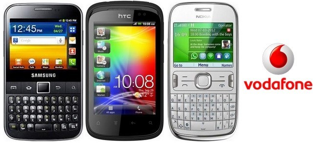 Smartphones Gama 0 Vodafone