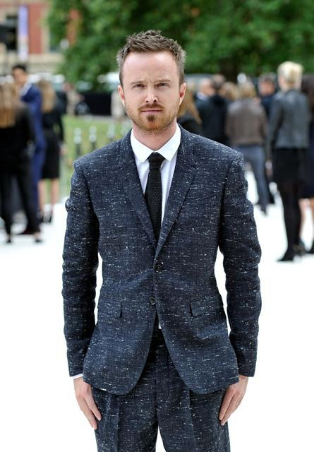 Aaron Paul Burberry Suit
