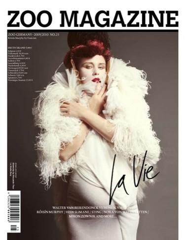 Roisin Murphy en la portada de Zoo Magazine