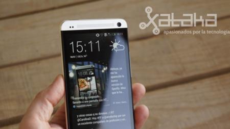 HTC one análisis pantalla