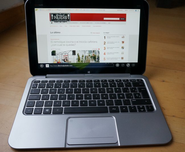 hp envy x2 con web