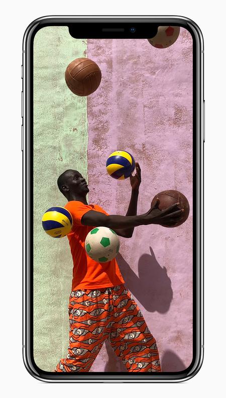 Iphonex Front Vibrant Camera