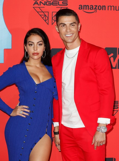 Cristiano Ronaldo Y Georgina Rodriguez Mtv Europe Music Awards 2019 1