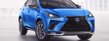 Lexus NX 300h F Sport Black Line Special Edition 2021, el veterano SUV afirma que sigue vigente