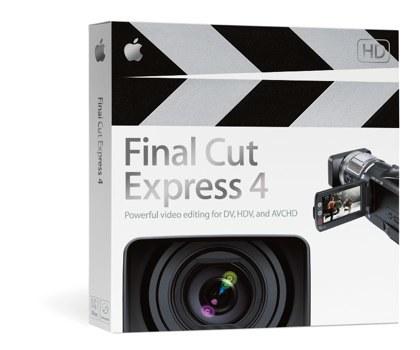 Final Cut Express 4 ya disponible