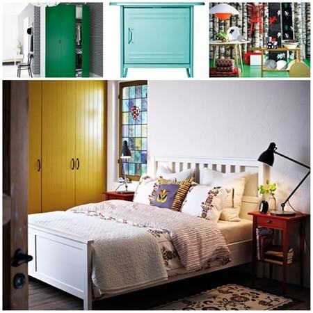 Dormitorios catálogo ikea 2014 color