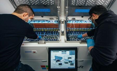 Microsoft Sistema Enfriado Datacenter