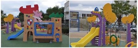Pocoyó y Hello Kitty llegan a los parques infantiles urbanos