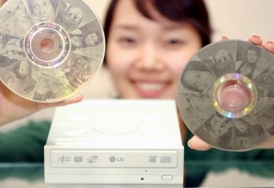 GSA-4166B, el DVD de LG que personaliza los discos