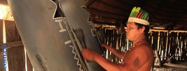 El lenguaje en peligro de extinción de esta tribu se amplifica con tambores