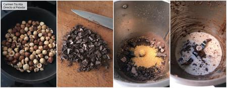 Paso A Paso Crema De Cacao Y Avellanas Saludable