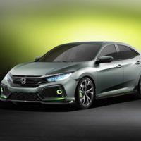 Honda Civic Hatchback Concept, los japoneses quieren hacer temblar al Golf