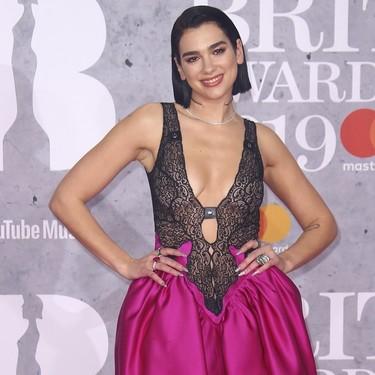 BRIT Awards 2019: Dua Lipa y sus transparencias no consiguen triunfar como se esperaba