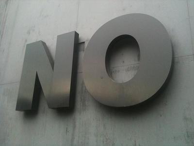 Saber decir no a un cliente a tiempo