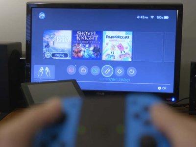 Se puede usar el modo TV del Switch sin conectar al dock con una extensión USB