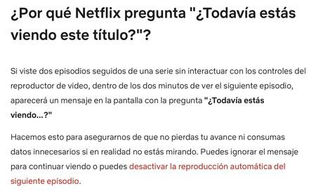 Netflix Pregunta