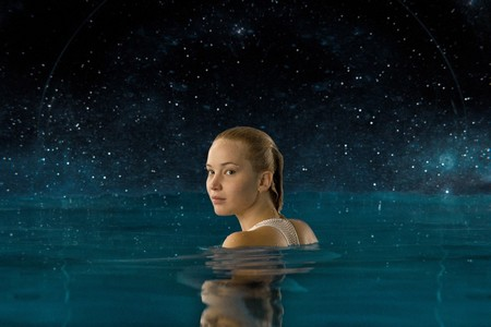 Jennifer Lawrence Passengers Pool Scene