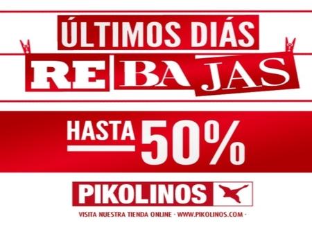 Las rebajas en Pikolinos al 50% de descuento