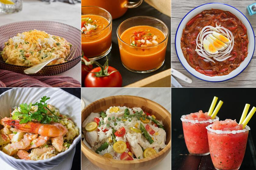 Las 16 mejores recetas para disfrutar de comidas de verano caseras sin pasar calor