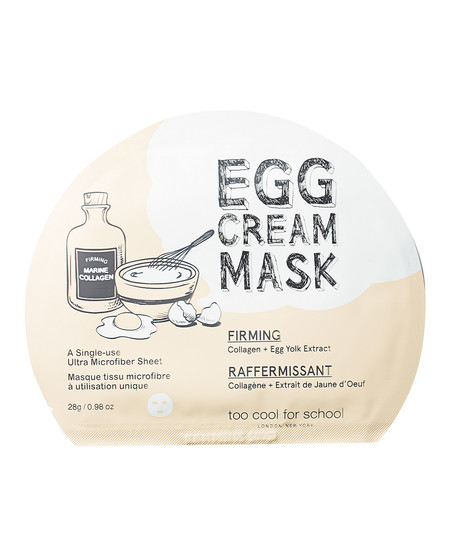 Egg Cream Mask Hydration De Too Cool For School