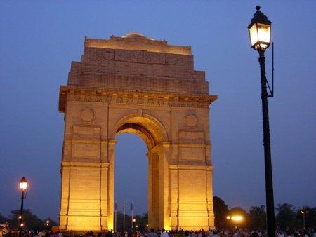 La India Gate de Nueva Delhi