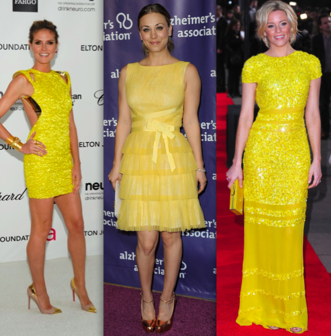 Que significa el vestido amarillo