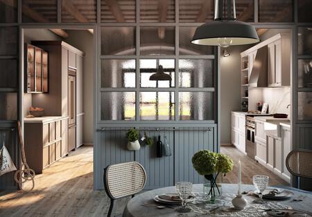 Inspiración en la cocina; una cocina de aire colonial llena de detalles es la nueva propuesta de Rekker