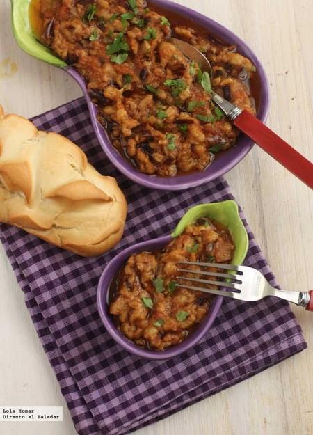 ensalada de berenjena marroquí