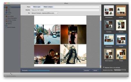 Crea divertidos mails con tus fotografías desde iPhoto