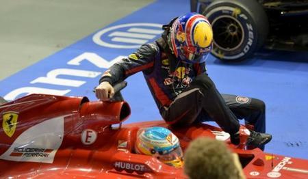 El video que demuestra las imprudencias de Mark Webber y de Fernando Alonso.