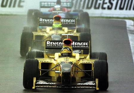 Gran Premio Bélgica 1998: Eddie Jordan y su gran día