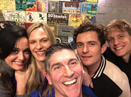 Selfie Con Katy Y Orlando