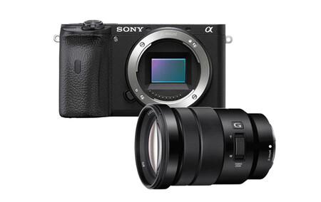 Sony A6600 Con 18 105