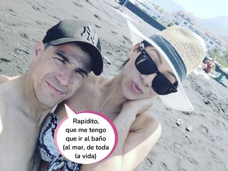 Juan José Ballesta derrocha felicidad veraniega junto a su nueva novia: Así es Jacqueline, la mujer que le ha devuelto la ilusión