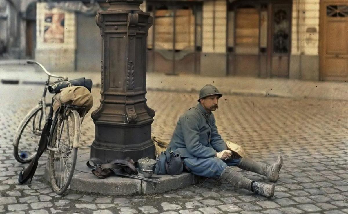 La Primera Guerra Mundial a todo color: 27 fotografías pioneras del día a día en la contienda