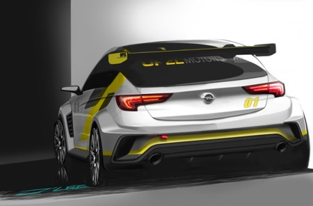 Opel nos tienta con teasers del Opel Astra TCR