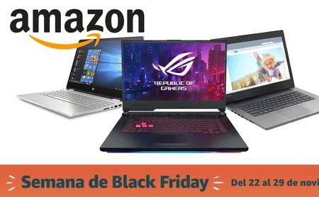 Las 9 mejores ofertas en portátiles ligeros y delgados en el Black Friday de Amazon: Lenovo, MSI o LG más baratos