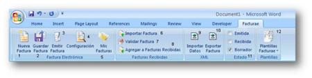 Nueva versión de FactOffice, facturas electrónicas desde Word