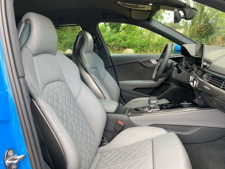 Audi S4 Avant Prueba asientos