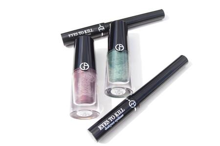 Este verano las miradas ganan intensidad con los nuevos tintes de ojos y eyeliners de Giorgio Armani, los probamos
