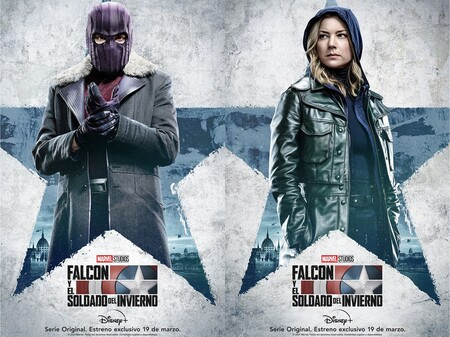 Personajes que aparecerán en Falcon and the Winter Soldier