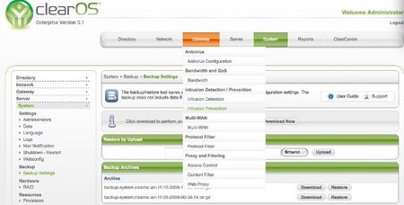 ClearOS, solución de servidor de código libre para las pymes