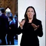 La única explicación que necesitas para entender el caos del Brexit es la de esta intérprete