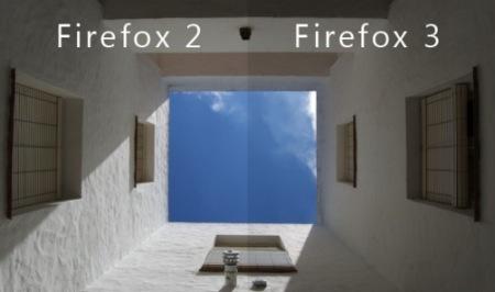 Activa la gestión de color en Firefox 3
