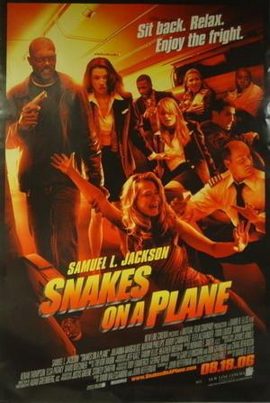 Nuevo póster de 'Snakes on a Plane'