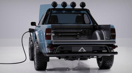 Alpha WOLF Truck, pick-up eléctrica compacta