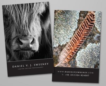 Tarjetas de visita para fotógrafos, 22 modelos para inspirarte