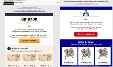 La última estafa en WhatsApp: cupones de Aldi y Amazon
