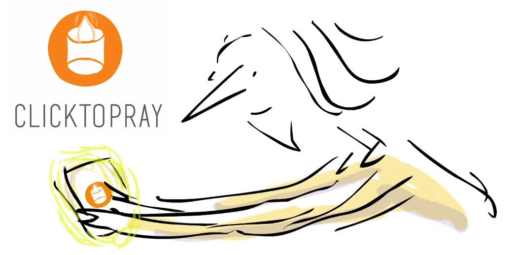 Así es 'Click To Pray', la aplicación recomendada por el Papa Francisco