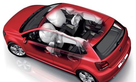 Volkswagen Polo conjunto de airbags